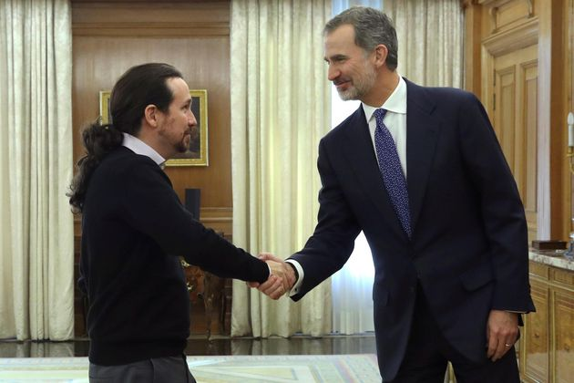 Pablo Iglesias y Felipe