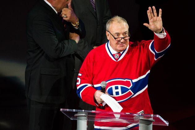 Le Canadien de Montréal a retiré le numéro 5 de Guy Lapointe en novembre