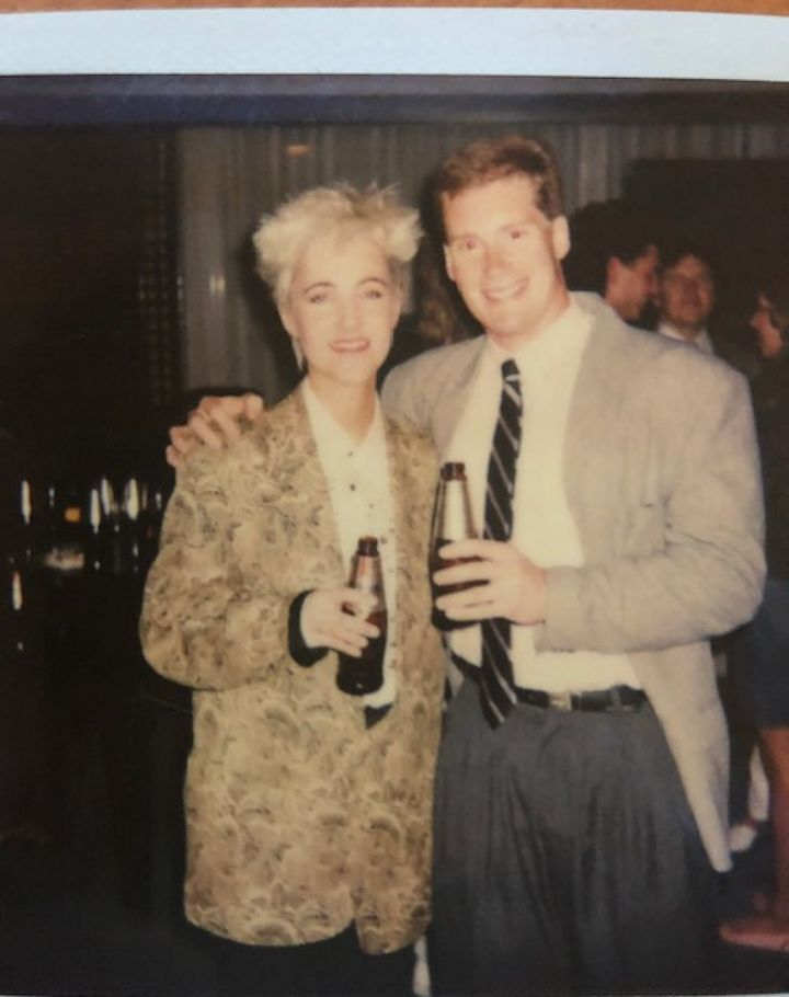 Marie Fredriksson and Dean Cushman. Cushman told HuffPost he met Roxette a few times over the years, and remembers the time f