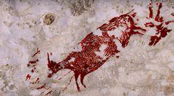 Descubren la pintura rupestre más antigua de la