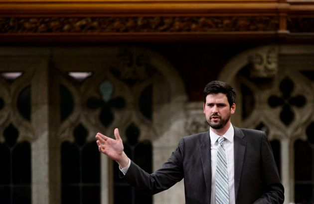 Liberal MP Sean Fraser stands during question period in the House of Commons on Dec. 10,