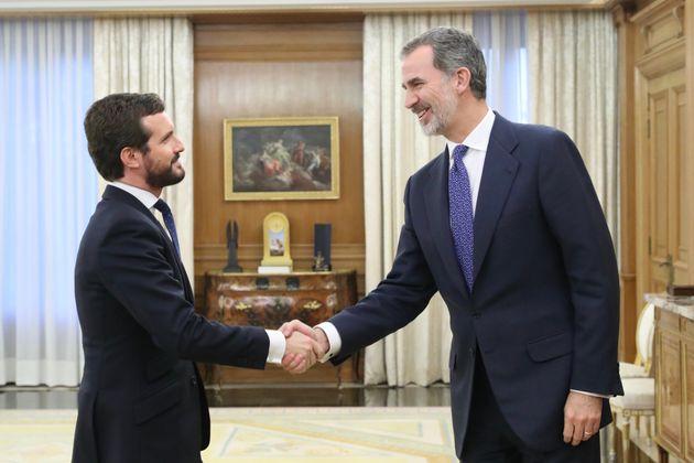 Pablo Casado y Felipe
