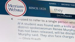 'They' Knows What's Up: Merriam-Webster Reveals Word Of The