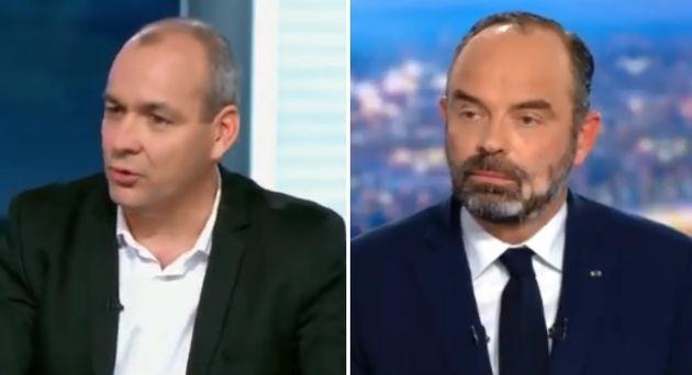 Sur France 2, Berger demande à Philippe de revenir sur l'âge pivot, il refuse sur