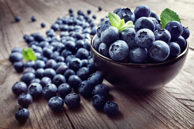 Blueberries can cause your poop to have a blue or black