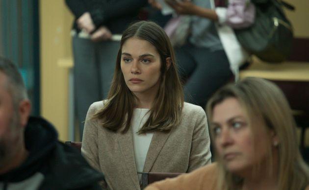 Maripier Morin se sent privilégiée d'avoir tourné dans la série «La faille»