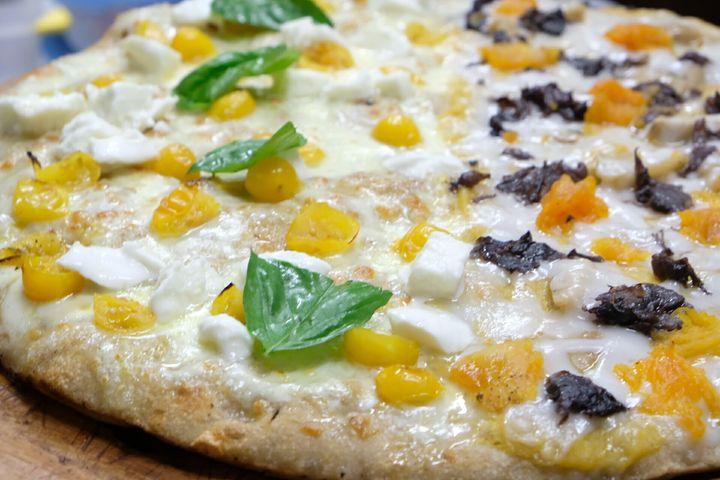Pizza Cetarese & Orto e Bosco