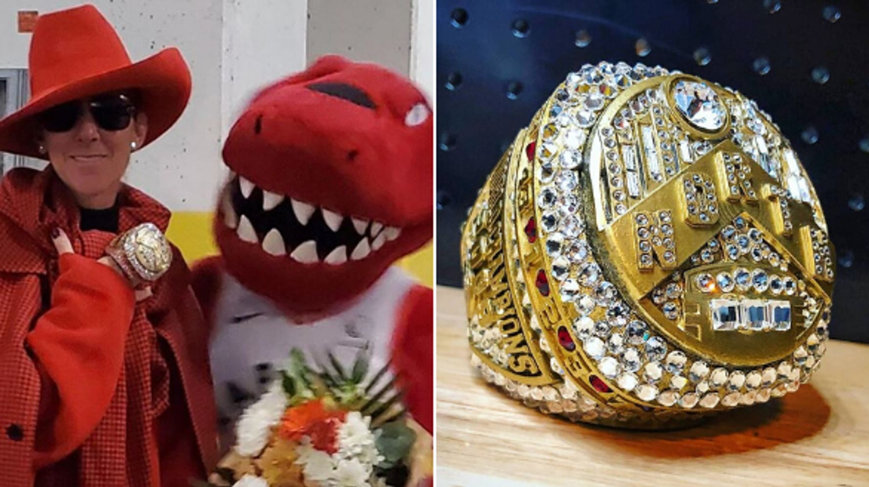 Céline Dion's Raptors Ring Was Designed By A Mascot Engineer
