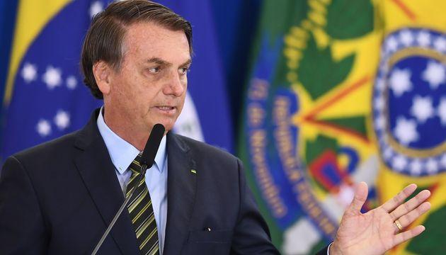 Jair Bolsonaro, ici le 9 décembre à Brasilia, a évoqué la