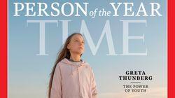 그레타 툰베리가 타임지 선정 2019년 올해의 인물이