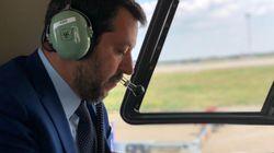 Salvini indagato per i voli con gli aerei di
