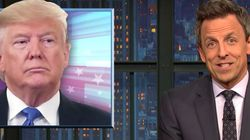 'Slurring Like A Lunatic': Seth Meyers Tears Apart Trump's 'Deranged'