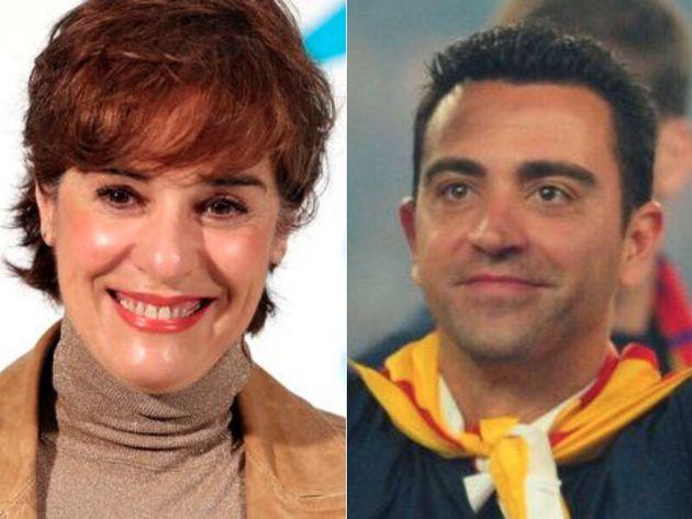 Anabel Alonso y Xavi