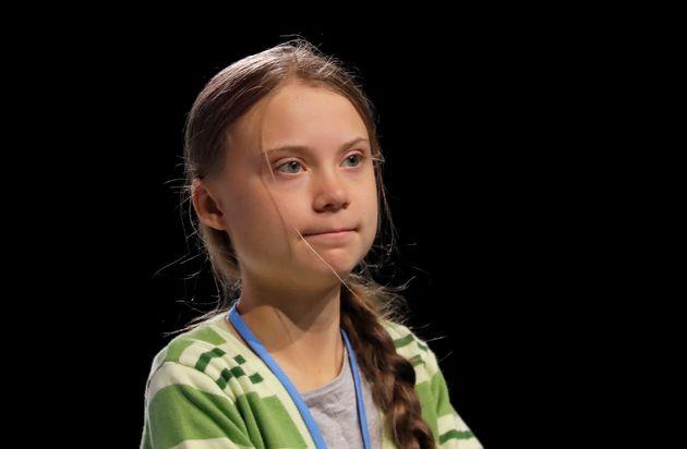 Greta Thunberg à la COP25 à Madrid, le 11 décembre