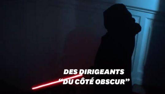 Greenpeace transforme Macron en Kylo Ren pour dénoncer l'inaction des