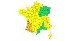 Météo France place cinq départements en vigilance