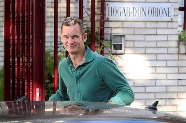 Iñaki Urdangarín en una de sus salidad al Hogar Don Orione en Pozuelo de Alarcón (Madrid) desde la prisión...