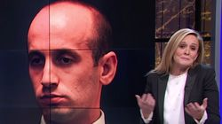Sam Bee Trolls Stephen Miller With Immigration-Themed Wedding Gift 'He'll