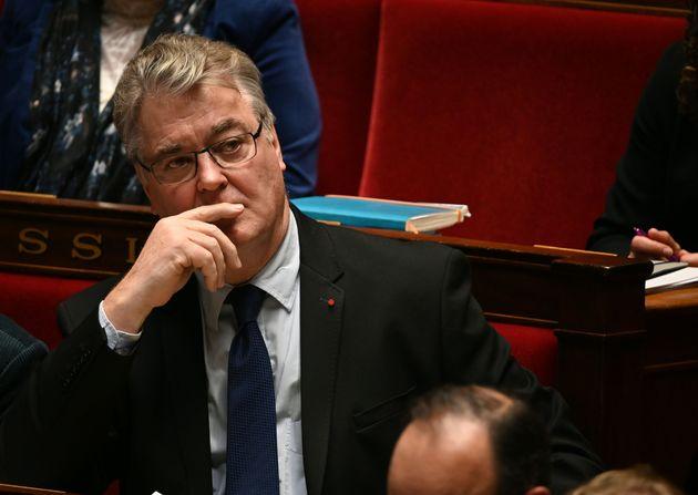 Jean-Paul Delevoye à lors des questions au gouvernement l'Assemblée nationale mardi 10