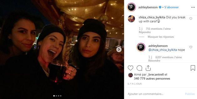 Le 11 décembre dernier, Ashley Benson a commenté une ancienne photo de son compte Instagram pour démentir...