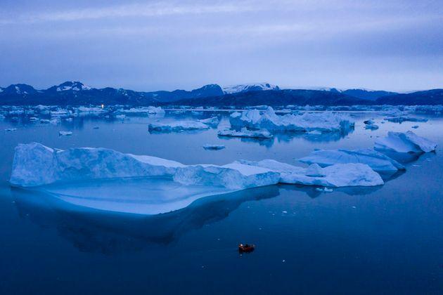 I ghiacciai in Groenlandia si sciolgono 7 volte più velocemente rispetto agli anni