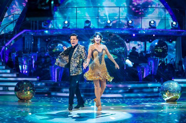 Emma and Anton danced the Cha Cha last