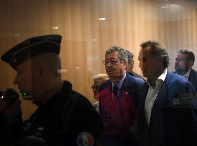 Patrick Balkany au palais de justice de Paris le 13