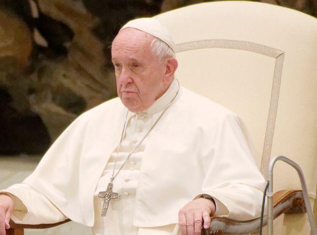 El papa, este 11 de