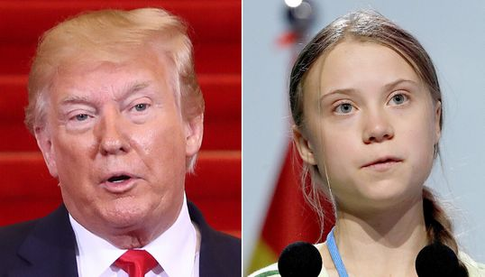 Trump Calls Greta Thunberg's Time Magazine Cover 'So