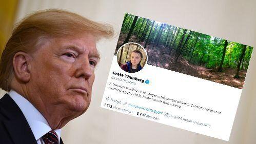 Greta Thunberg répond à Donald Trump sur