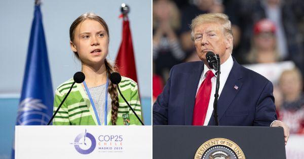 Donald Trump se moque encore une fois de Greta Thunberg