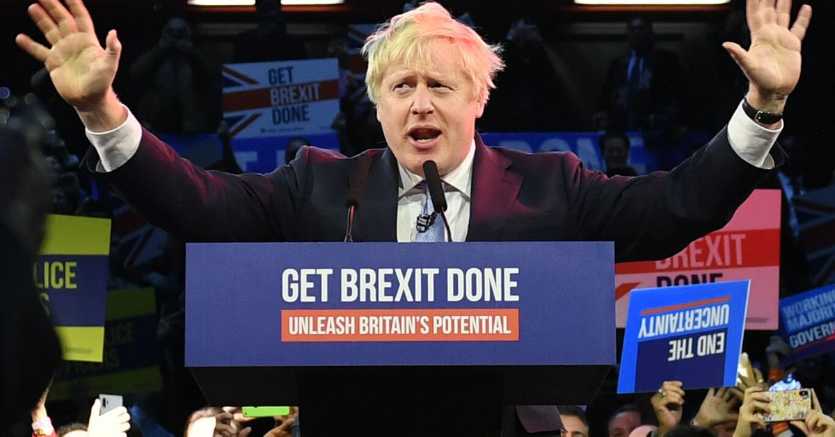 Exit Poll Projects Tory Majority Of 86 For Boris Johnson In 2019 Election