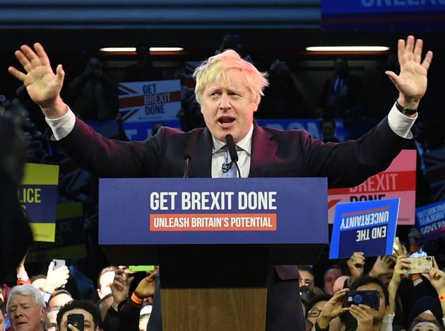 Exit Poll Projects Tory Majority For Boris Johnson In 2019 Election