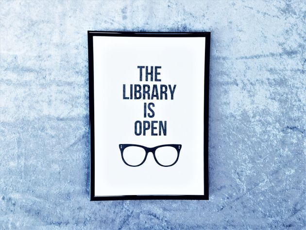 The Library Is Open Print, Etsy, £3.25