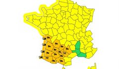 Météo France place 14 départements du sud-ouest en vigilance
