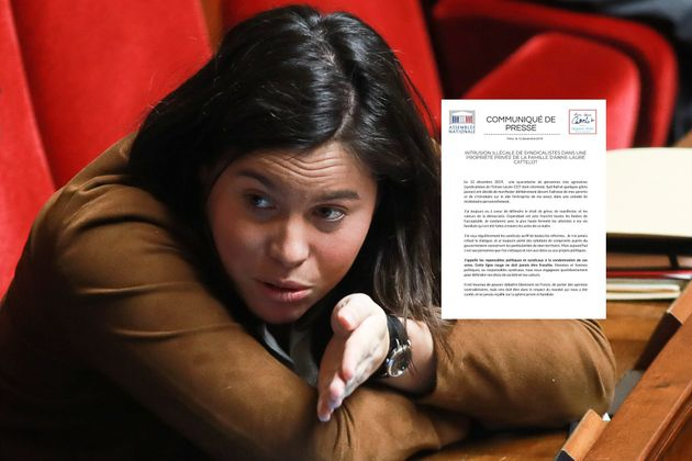 La députée LREM Anne-Laure Cattelot à l'Assemblée