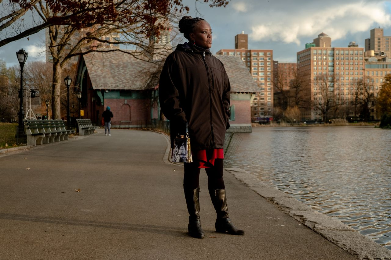 Cordell Cleare poses for a portrait in Central Park on Thursday.