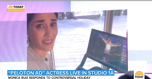 Peloton Actor Monica Ruiz: 'It Was My Face. That Was The