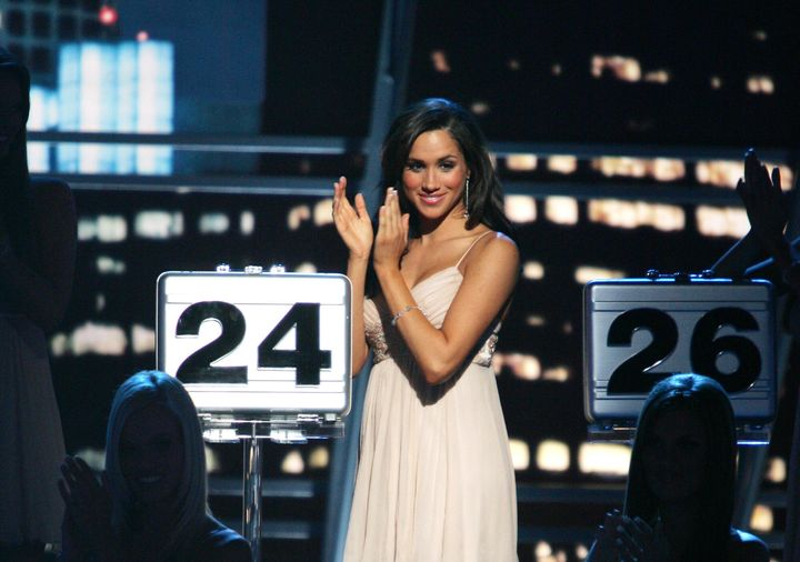 "Meghan Markle was a briefcase model on NBC's ""Deal or No Deal"" from 2006 to 2007."
