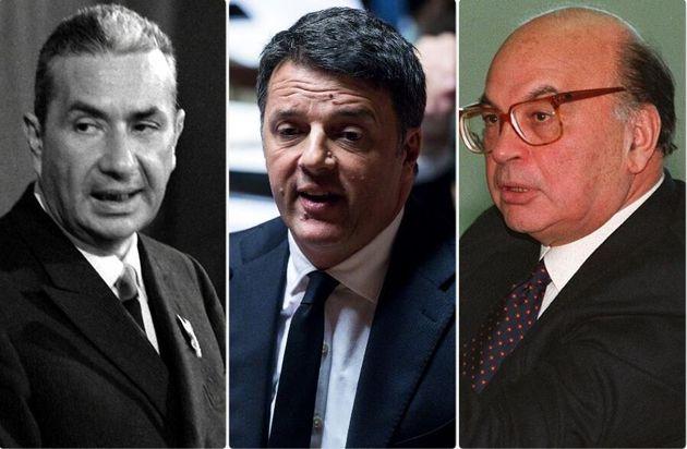 Aldo Moro, Matteo Renzi, Bettino