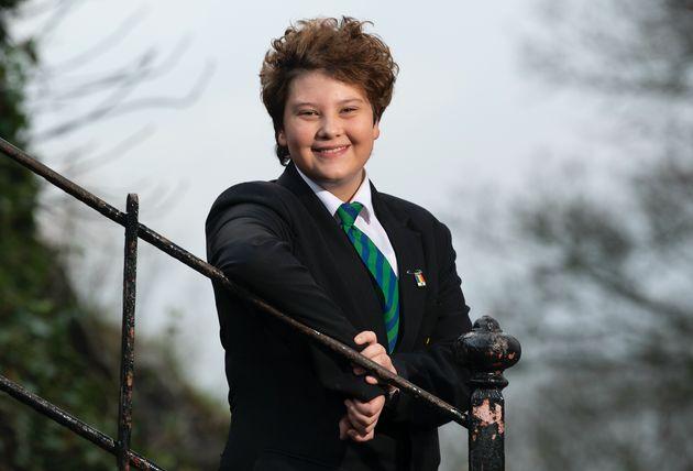Joe Shatford, hoje com 14