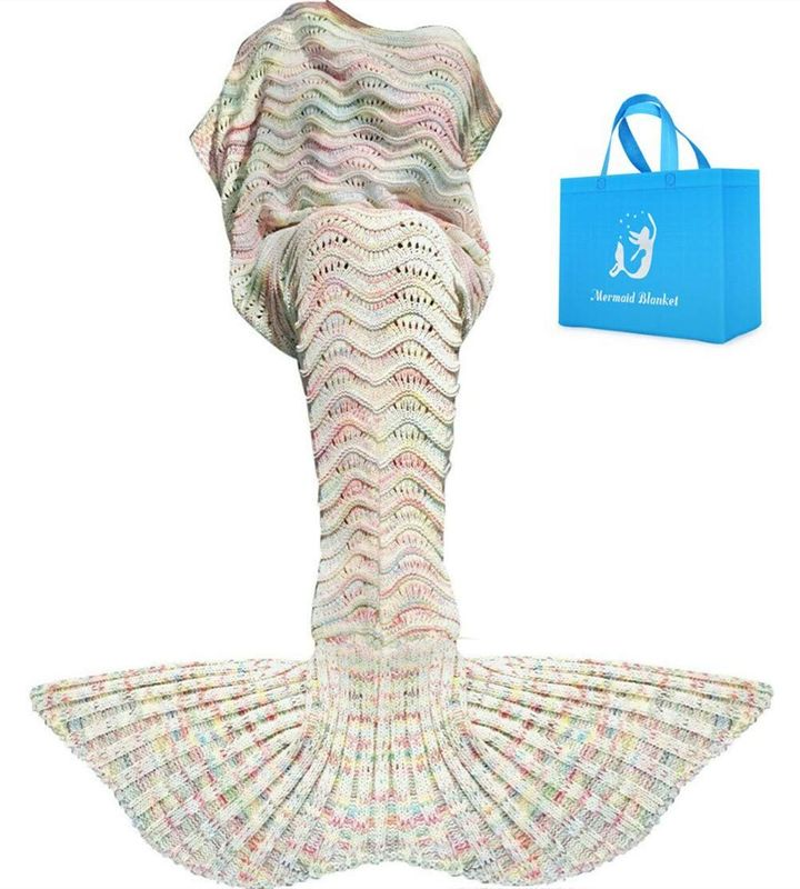 Mermaid Tail Blanket, Amazon
