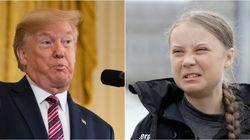 Trump se burla de Greta Thunberg en Twitter y la respuesta de la activista no puede ser