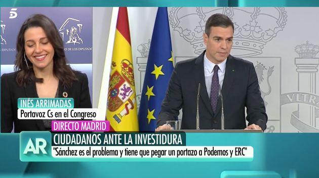 Inés Arrimadas en El programa de