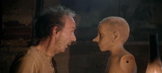Un frame del film Pinocchio di Matteo