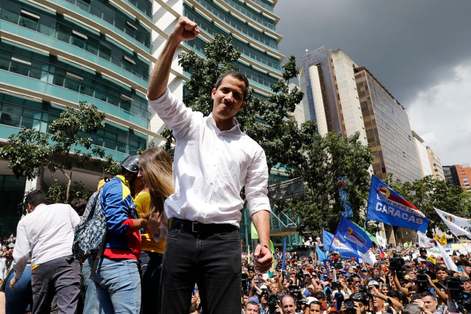 Juan Guaidó declared himself the country's legitimate leader on Jan. 23, 2019, and has since led the effort to oust Ma