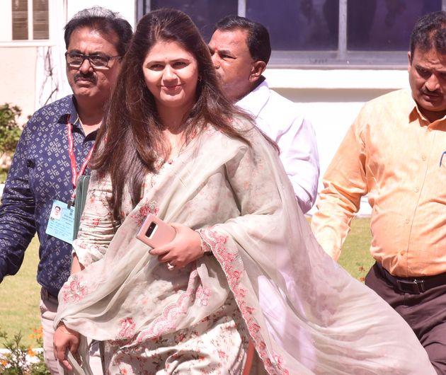 BJP leader Pankaja Munde in a file
