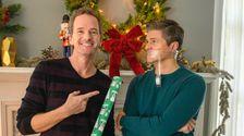 こちらはどのようニール-パトリックハリスブラッシンBurtkaプランを記念のクリスマススタイル