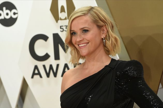 Reese Witherspoon arrives at the 53rd annual CMA Awards at Bridgestone Arena on Wednesday, Nov. 13, 2019,...