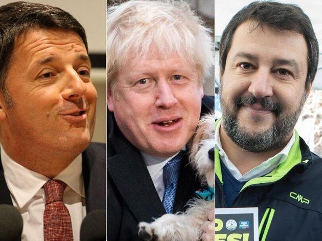 """I due Matteo su BoJo. Salvini esulta: """"Go Boris Go!&quo"""